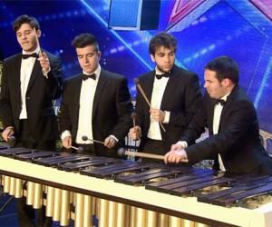 Abmiram Quartet han sorprendido con su dominio de la marimba