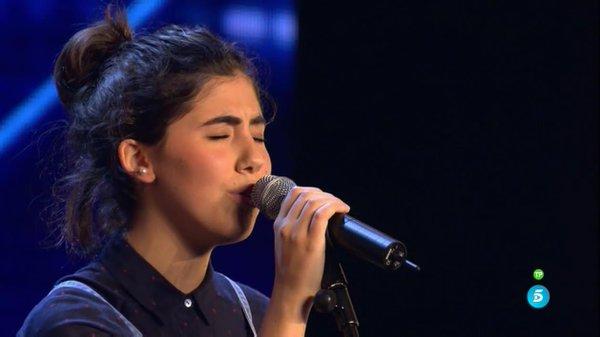 Gabriela Gutierrez Colomer sorprende al jurado con su voz