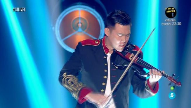 Javi Lin se gana al público y es el tercer finalista